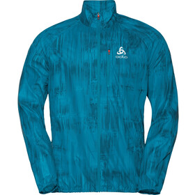 Odlo Zeroweight Print Jacket Men, tumultuous sea/graphic20